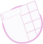 icoon vloerbedekking, tapijt & tegels