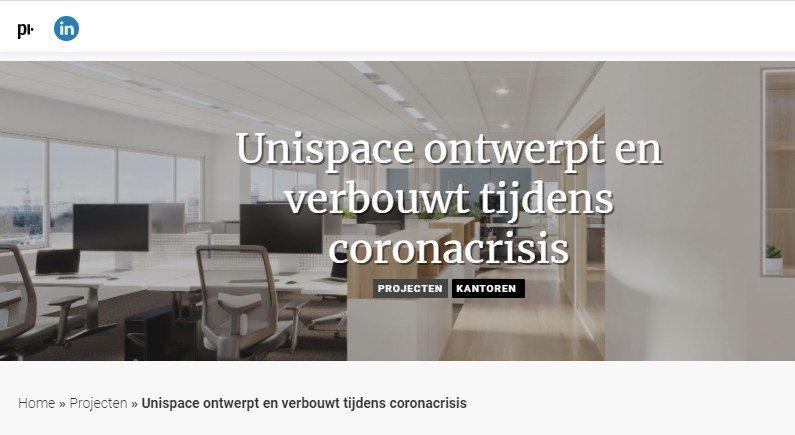 Artikel over realisatie Coty Amsterdam